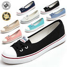 Womens Lady Low Casual Sneakers Running Breathable Leisure Flats Canvas Shoes US