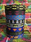 Superhero Comic Grosgrain Ribbon 22mm 7/8 Batman, Superman, Batgirl, Star Wars £1.3 GBP