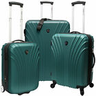 Traveler's Choice 3-Piece Hardsided Ultra Lightweight Luggage Set