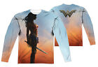 "Wonder Woman Movie ""Poster"" Dye Sublimation Double Sided Long Sleeve Tee"