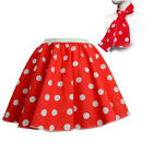 1950s Fancy Dress GIRLS Polka Dot Skirt LADIES Girls Rock n Roll Grease Costume