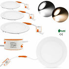 5Pcs 220V 12W 800LM Round Recessed Ceiling LED Panel Down Light Lamp Free Driver