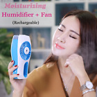 Chargeable Mini Fan Beauty Moisturizing Humidifier Summer Air-Condition Fan Gift