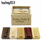 Custom LOGO Wooden usb+BOX usb flash drive pendrive 128MB 4GB 8GB 16GB 32GB gift