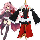 Women Seraph of the End Japanese Krul Tepes Uniform Outfit Cosplay Costume Dress