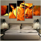 Bruce Lee KungFu Picture Canvas Painting Abstract Wall Modern Art Home Decor