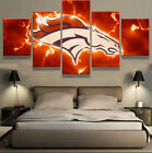 Denver Broncos Sport Art Wall Home Decor Modern Abstract Canvas Picture Printing