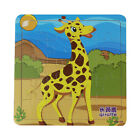 Wooden Animal Farm Jigsaw Puzzle Toy For Toddler Children Educational Learning