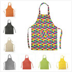 childs apron - Opromo Colorful Cotton Canvas Kids Aprons with Pocket, Artist Apron