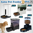 Automatic Pet Feeder Auto Program Digital Cat Dog Food Bowl Dispenser LCD