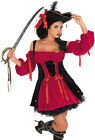 CAPTAINS WENCH PIRATE LADIES FANCY DRESS COSTUME