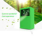 Mini Portable Desktop Summer Air Conditioner Air Fan Easy Touch Control Cool Hot
