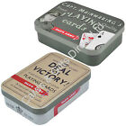 Dads Army Captain Mainwaring Deal for Victory Pack Playing Cards in a Tin