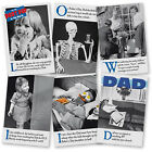 Dad Humorous Funny Father's Day Card On The Ceiling Emotional Rescue Cards