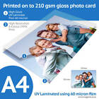A4 Bordeless Custom Printed Gloss Photo Prints - 3 Finishes Available