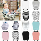 Multi-Use Stretchy Newborn Infant Nursing Cover Baby Car Seat Canopy Cart Cover.