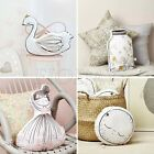 Little Girl/Swan/Wishing Bottle Shaped Pillow Music Play Cushion Toy Home Decor