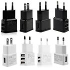 5V 2A 1/2/3-Port USB Wall Adapter Charger US/EU Plug For Samsung  S5 S6 iPhoneSF
