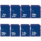 16MB 32MB 64MB 128MB 256MB 512MB 1GB 2GB SD Secure Digital Sdandard Memory Card