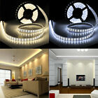 5M Double Row Tube 5050 600 LED Cool Warm White IP67 Waterproof Strip Light 12V