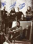 In Flames METAL BAND autographs, In-Person signed photo