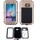 Father's Gift Shockproof Waterproof Aluminum Gorilla Glass Metal Cover Galaxy S6