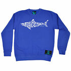 SHARK Made Up of Scuba Divers Open Water SWEATSHIRT birthday fashion gift diving