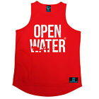 OW Diver Bold Text Open Water MENS DRY FIT VEST singlet birthday scuba diving