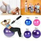 Yoga Ball Exercise Fitness Balance Gymnastic Strength 55cm 65cm 75cm 85cm + PUMP image