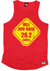 Hell And Back 26.2 Miles MENS DRY FIT VEST singlet birthday fashion gift running
