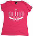 Real Women Train WOMENS T-SHIRT birthday gift gym fitness fa