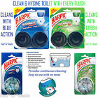 Harpic Flushmatic in Aquamarine & Pine Rinse your toilet with every flush