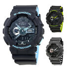 Casio G-Shock Analog-Digital Resin Mens Watch GA110 - Choose color