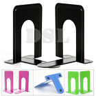 '4 Pairs From £9.89 Heavy Duty Metal Bookends Book Ends 7.5 Office Stationery