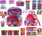 Party Favors Gift Trolls Products Toys Backpack Lunch Bag Pencil Wallet Erasers image