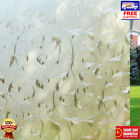 Beautiful Static Window Film Glass Etched PVC Vinyl Frosted Privacy Wavy Pattern