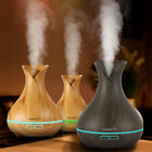 essential oil diffuser ultrasonic - Easehold Humidifier Ultrasonic Air Aromatherapy Essential Oil Diffuser 400ml【US】