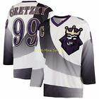 WAYNE GRETZKY Los ANGELES Kings 1995-96 Mitchell & Ness BURGER KING Jersey 40-52