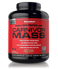 MuscleMeds CARNIVOR MASS High 6 Lb Beef Protein Gainer * Free Expedited Shipping
