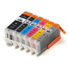 Multipack Ink Cartridges for Canon Pixma IP8750 MG6350 MG7150 MG7550 with Grey