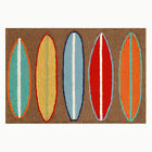 Trans-Ocean Front Porch Rug - Surfboards