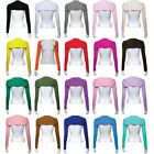 Muslim Ladies Womens Long Sleeve Cotton Arm Cover Up Stretch Top Short Hijab