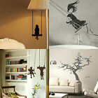 Childrens Swing Wall Stickers! Childs Transfer Graphic Kids Decal Decor Stencils