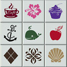 Tile Stickers Transfers Bathroom / Kitchen Intrerior Home Decals Art Cover Decor