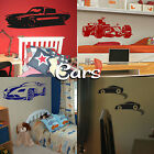 Car Wall Stickers! Home Transfer Graphic Decals Decor Stencil Boys Sports Racing