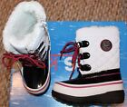 New! Girls Toddler Totes Sophie Duck/Snow/Winter Boots (White)- Sz 8, 9, 10