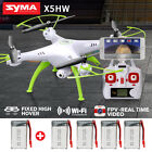 Syma X5HW 2.4Ghz 4CH 6-Axis FPV Drone with WIFI HD Camera Headless RC Quadcopter