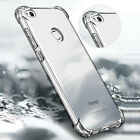 360° Shockproof Soft Silicone TPU Clear Case Cover For Huawei P9 Lite Mini 2017