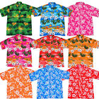 M-XXL MENS COTTON HAWAIIAN SHIRT STAG NIGHT BEACH SUMMER HAWAII PARTY ALOHA