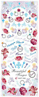 Nail Art Stickers Transfers Decals HOT Series Valentines Forever Love 058-060
